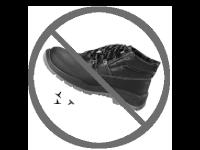 Buty robocze z wkładką antyprzebiciową. P