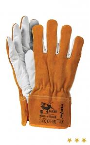 Rękawice całoskórzane ocieplane
