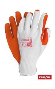 Rękawice reco green/orange bruk